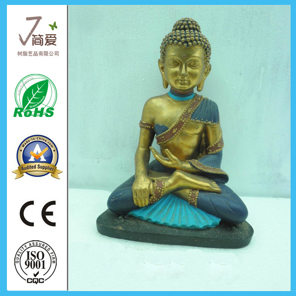 Polyresin Buddha, Religion Figurine Buddha Statue
