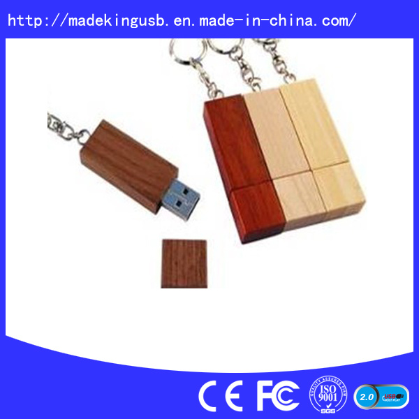 Hotsales Wooden USB Flash Drive (USB 2.0)