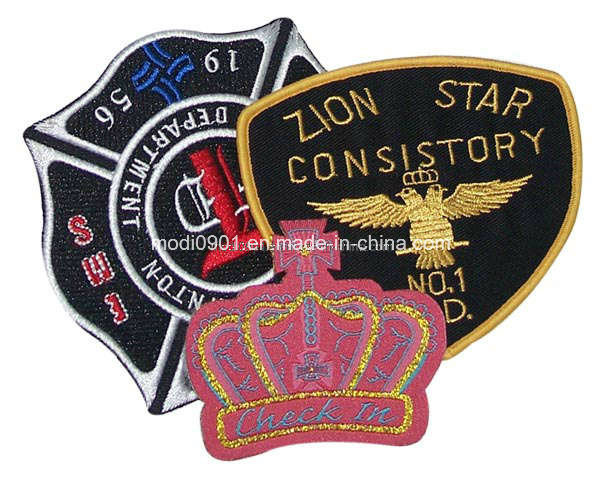 Garment Label Embroidery Badge Embroidery Label Embroidery Badge