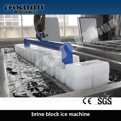 Block Ice Making Machine Using Brine System