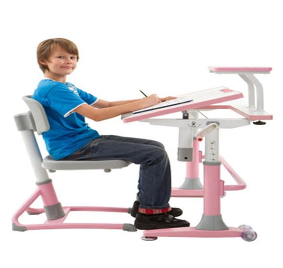 Height Adjutable Child Student Computer Table Set MDF Children Furniture