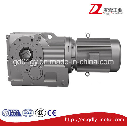 K Helical-Bevel Geared Motor
