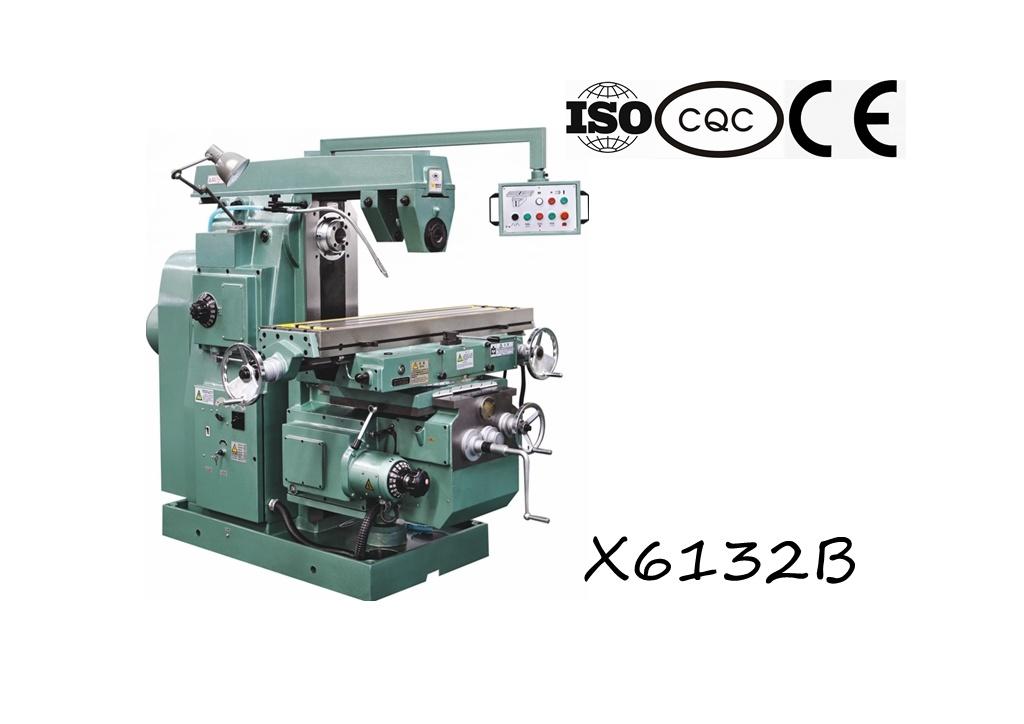X6132b Universal Knee-Type Milling Machine