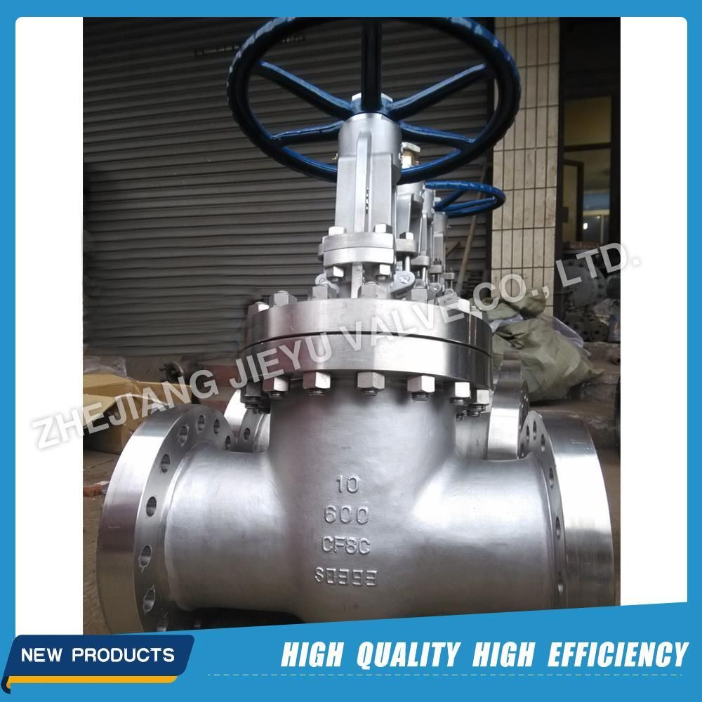 API CF8c/321 Stainless Steel Gate Valve 600lb 4inch
