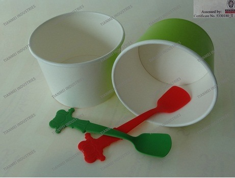 Baby Plastic Shovel Spoon for Yogurt