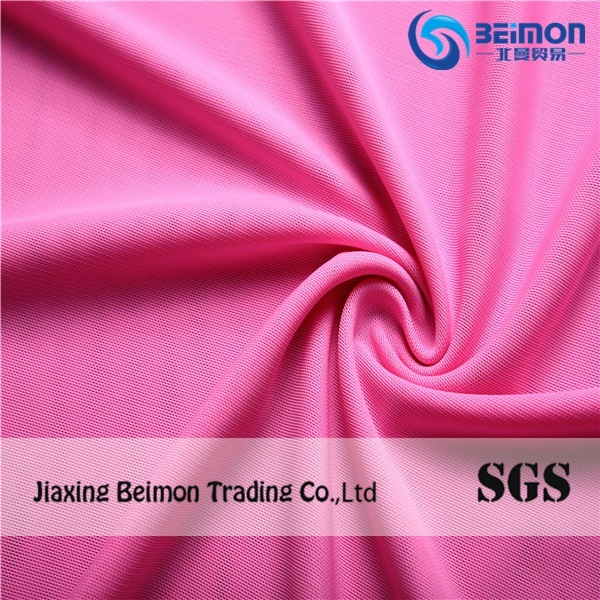 Polyester Elastic Spandex Mesh Net Fabric, Swimwear Fabric, Good Quality 4way Stretch Fabric