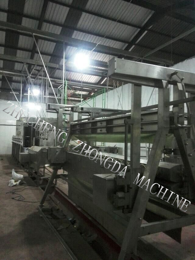 Indonesia High Level Installation Ofduck and Chicken Mixed Slaughter Line