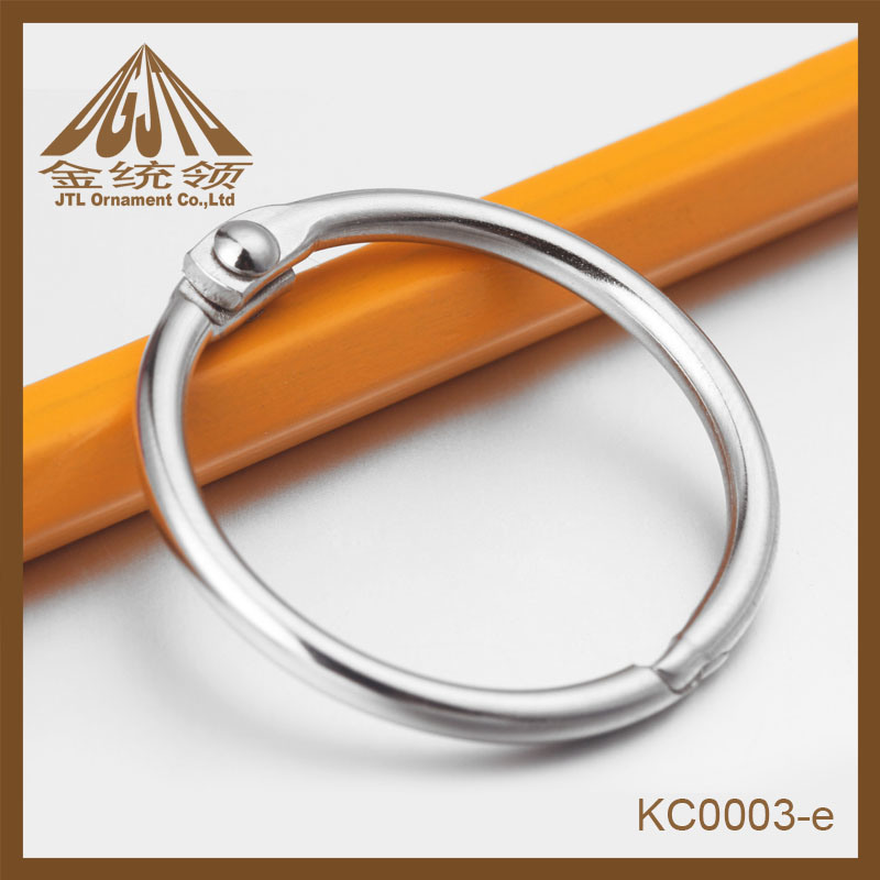 Fashion Nice Quality Metal Binder Ring Clips 25mm in Nickel