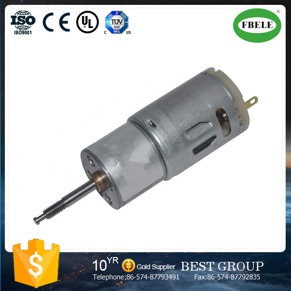 Small Straight Screw Motor Electric Special Window Wiper Motor,