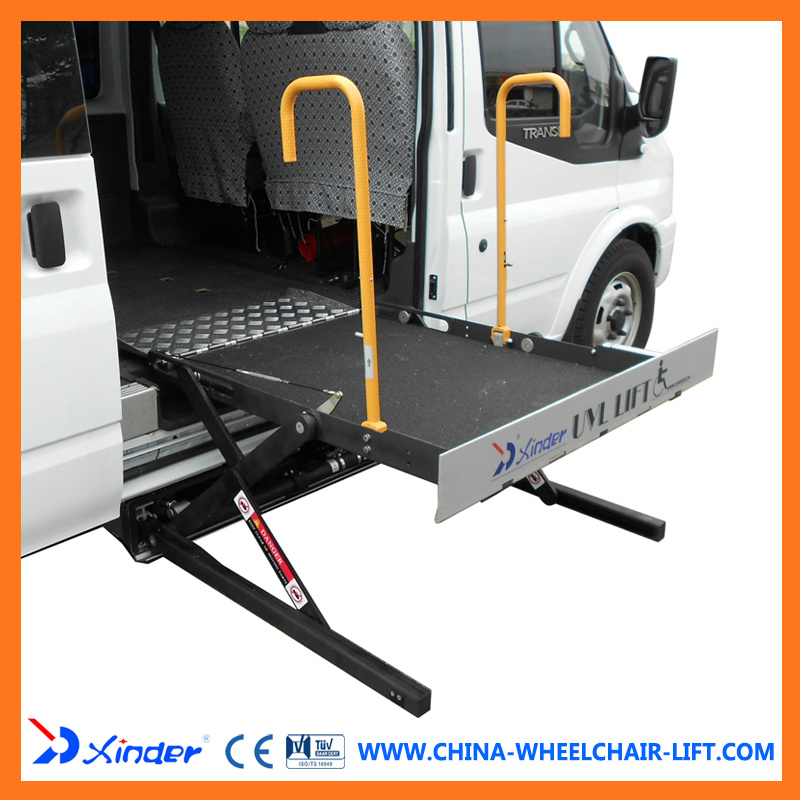 Hydraulic Wheelchair Lifts For Vehicles : China ce scissor and hydraulic wheelchair lift for van