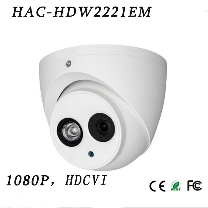 2.1megapixel 1080P Water-Proof WDR IR Hdcvi Dome Camera{Hac-Hdw2221em}