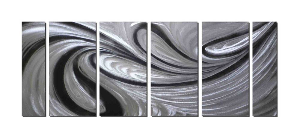 Handcraft Metal Wall Art Decor Abstract Aluminum Sculpture