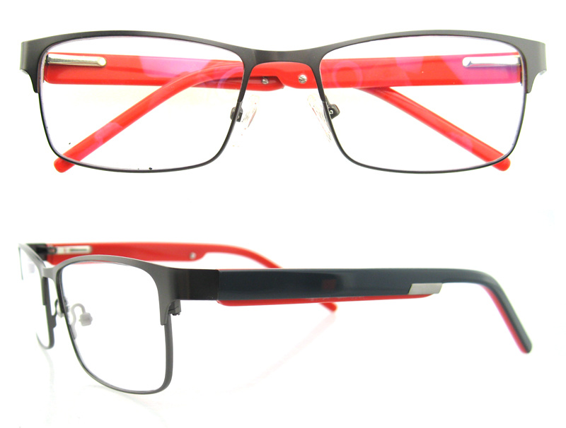 New Arrival Eyeglasses Frame Fashion Metal Frame with Ce and FDA