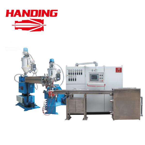 Double Layer Co-Extrusion Double Color Wire Cable Extruder Extrusion Production Line (FPLM)