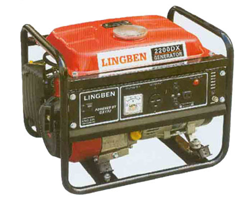 Small Electric Generator : China kw small portable gas electric generator lb