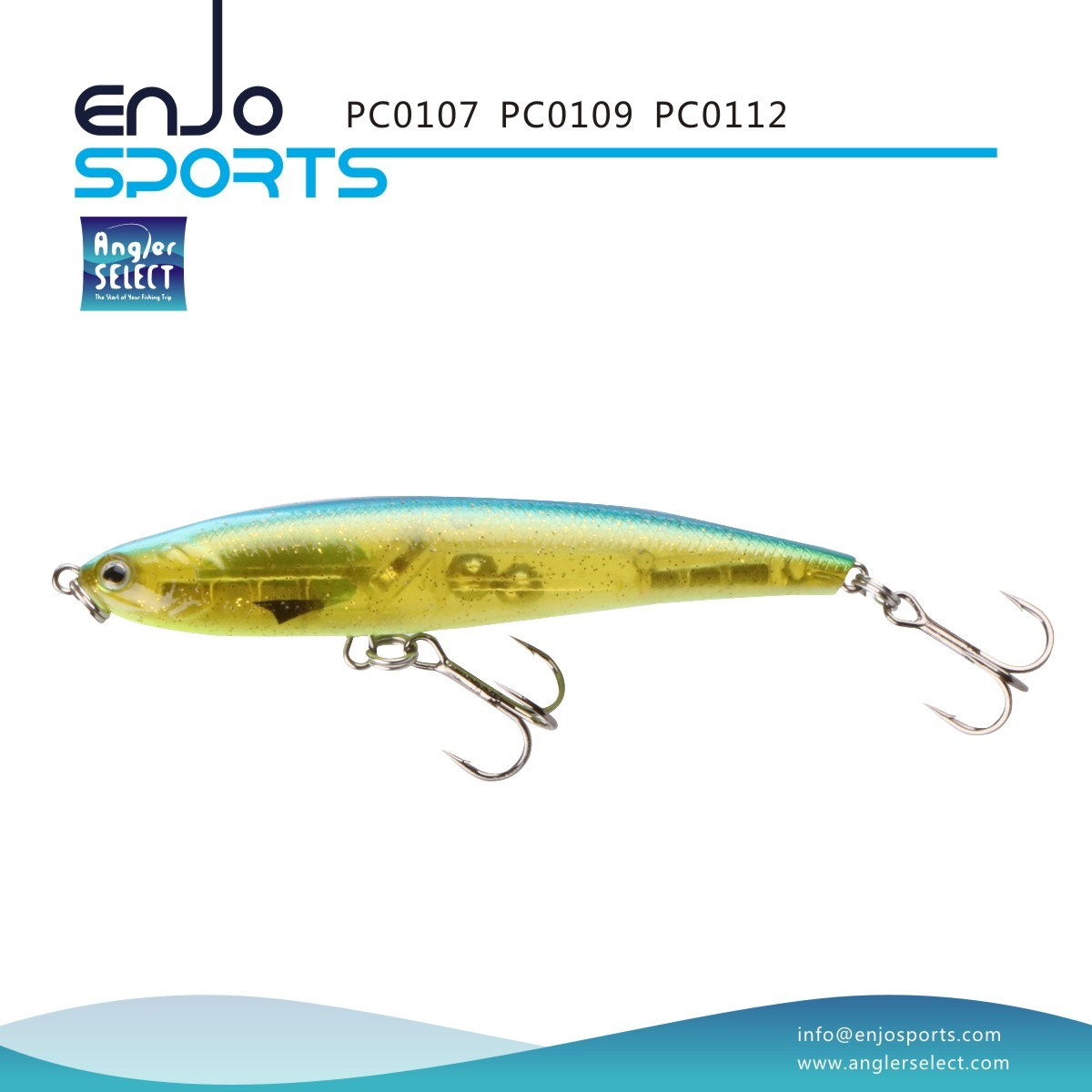 Sinking Pencil Stickbait PC01 Series