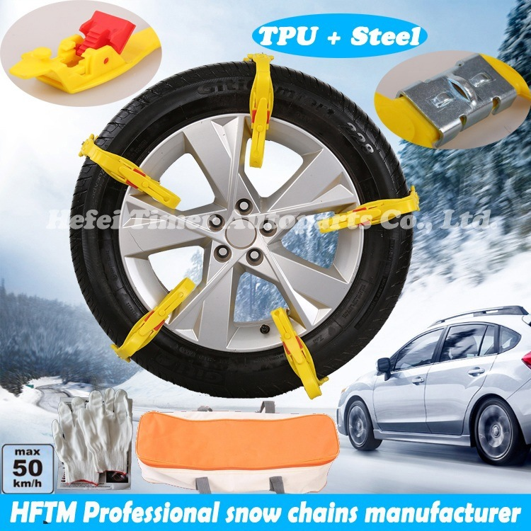 Ce Certificated Tyre Chains TPU Manufacturer Snow Chains