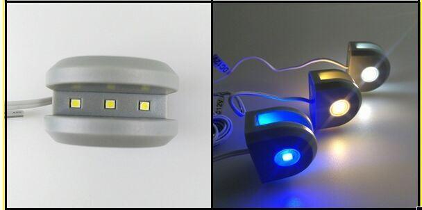 LED Glass Clip Light Shelf Light