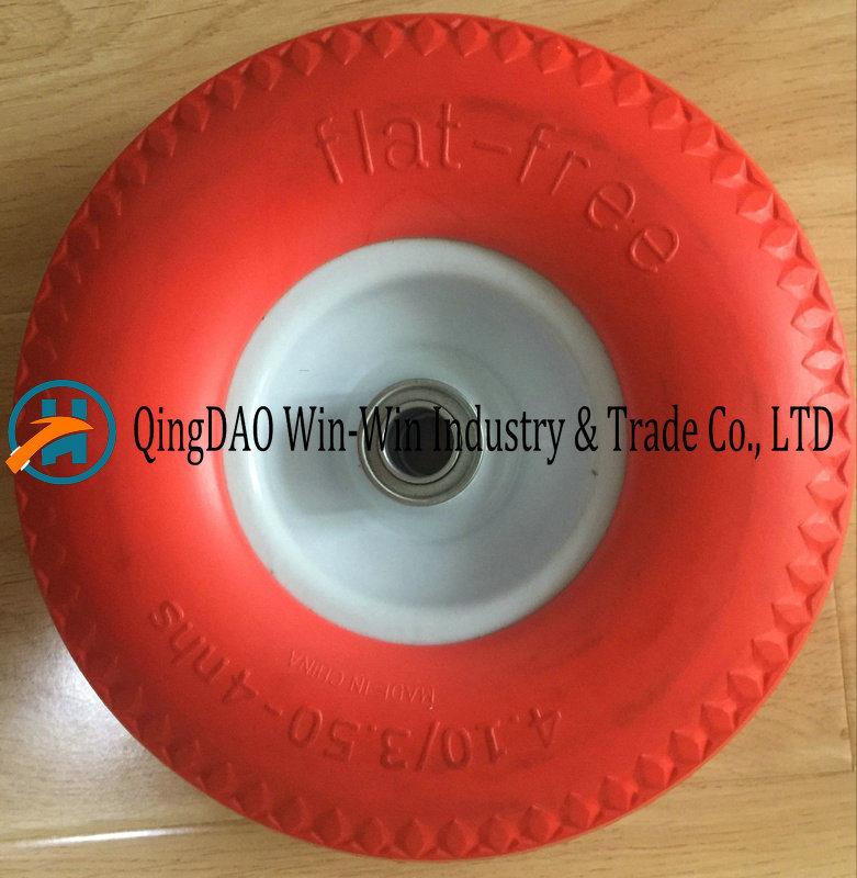 4.10/3.50-4 PU Wheel for Wheel Barrow