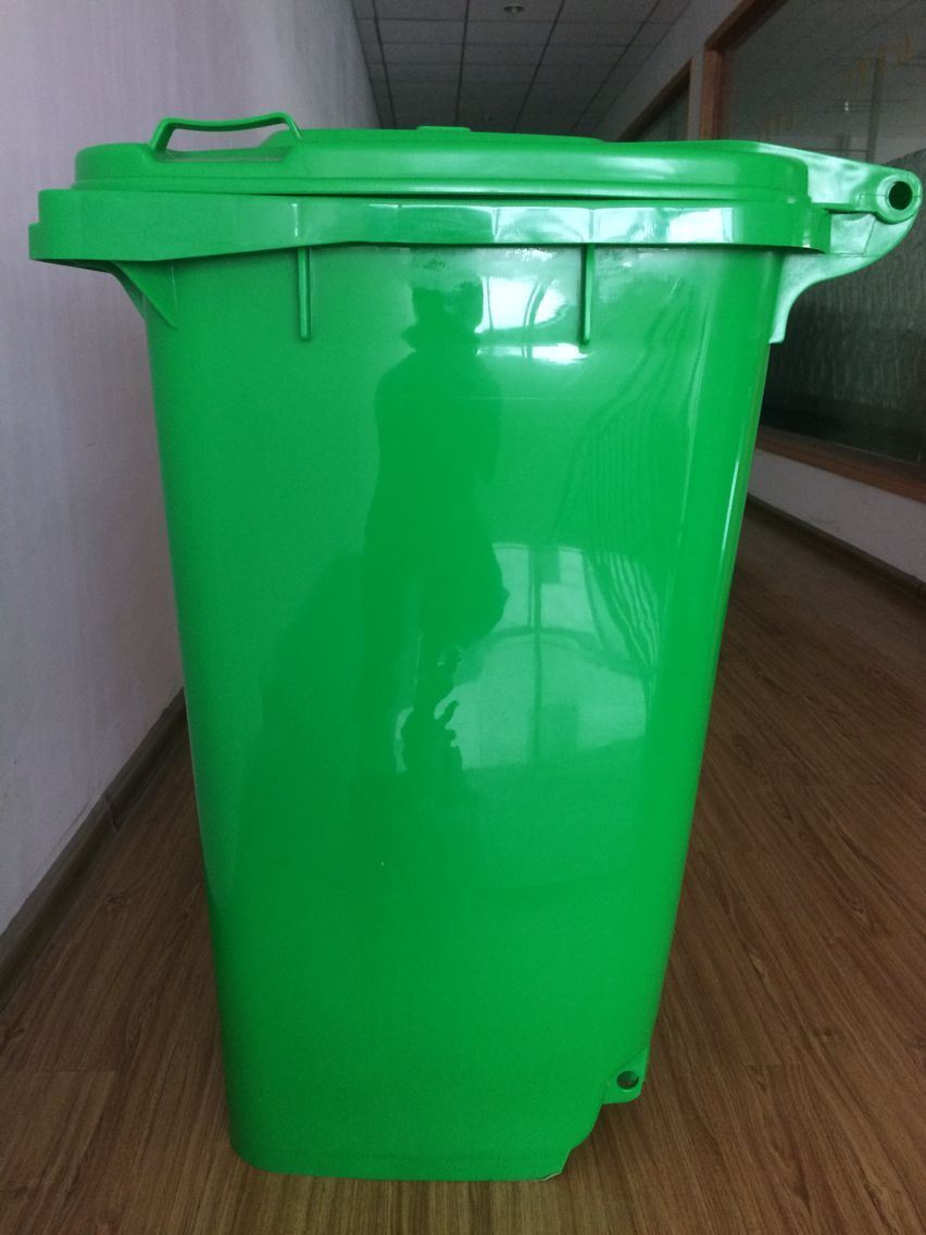 240 Liter Plastic Dustbin with 2 Wheels
