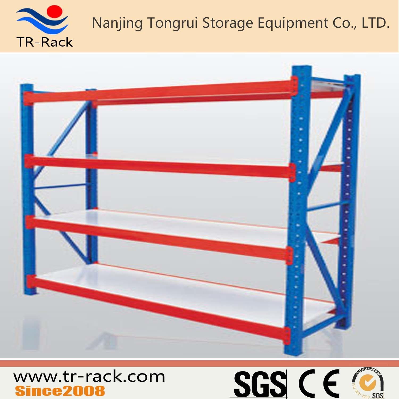 Medium Duty Long Span Racking with Steel Shelving