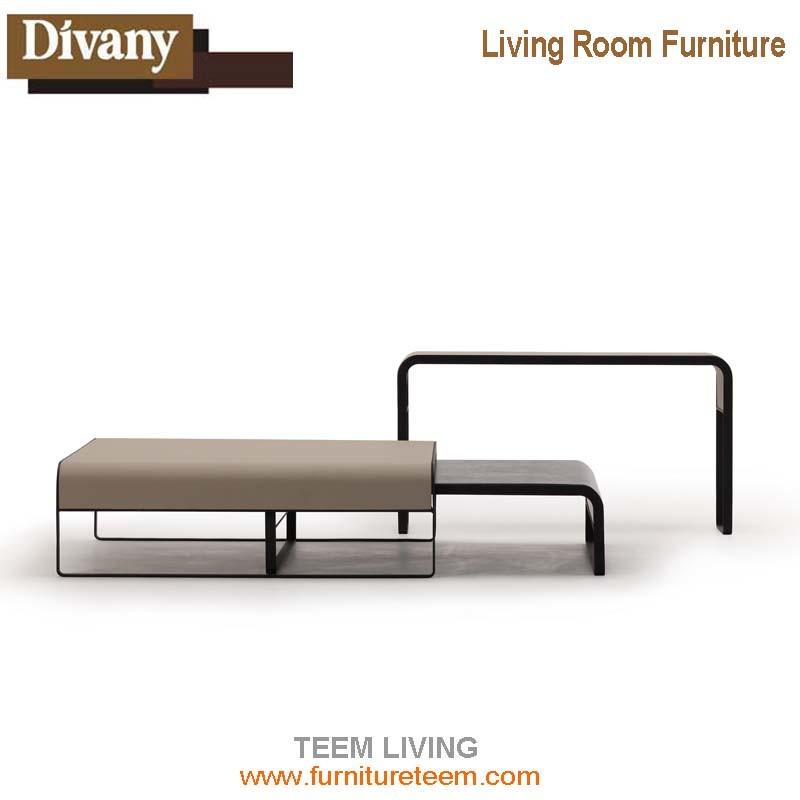 Livingroom Furniture Marble Top Coffee Table