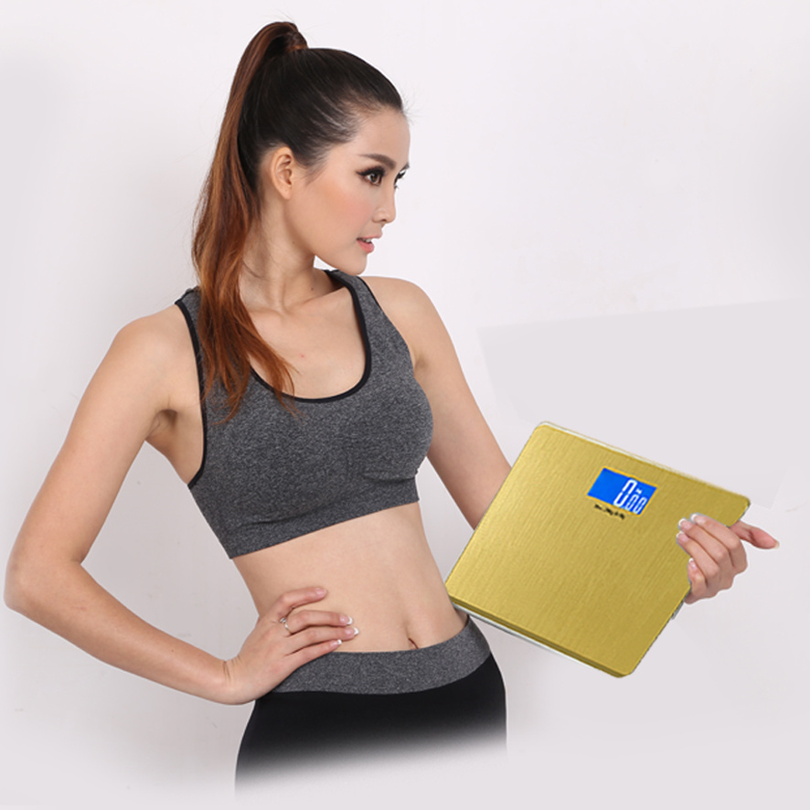 Large LCD Screen Golden Digital Weighing Scale