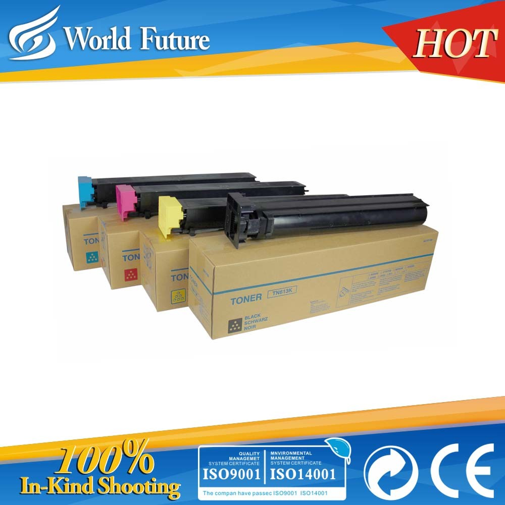 Tn613 Color Toner Cartridge for Use in Bizhub C452/C552/C652 High Quality