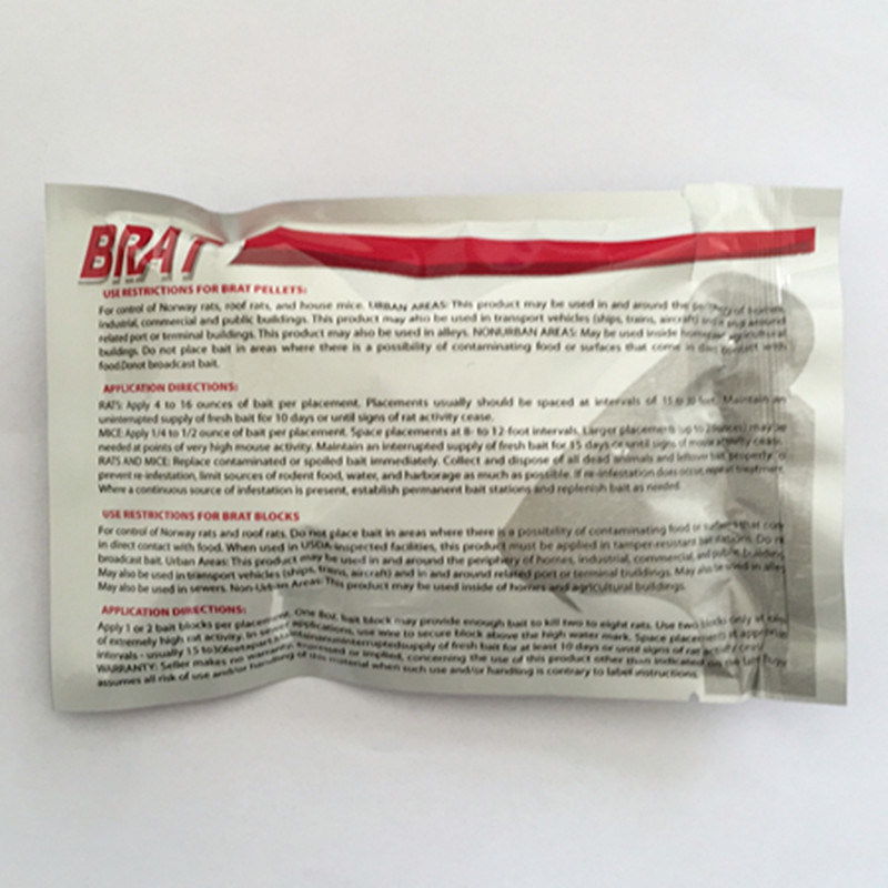 Bromadiolone 0.005% Rat Poison for Wholesale