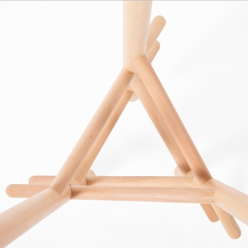 Popular Modern Beech Cloth Hanger Wooden Clothes Tree