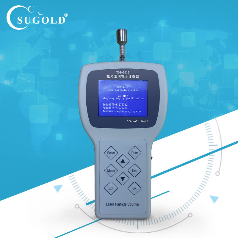 Hand Type Accurate Sampling Air Particle Counter