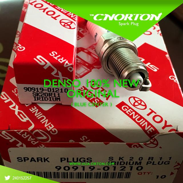 100% Original Blue Iridium Power Spark Plug for Denso Sk20r11 90919-01210 Japan