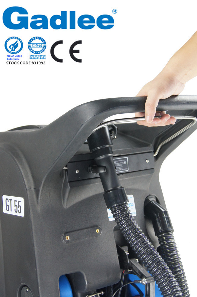 Industrial and Commercial Eco Low-Noise Automatic Ce Walk-Behind Scrubber Dryer