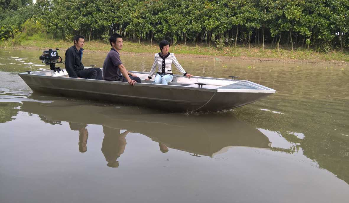 Aluminium Boats for Bass and Panfish (LURE1-17)
