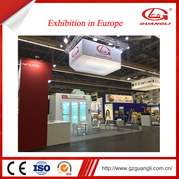 China Professional Factory Ce Approved European Design Car Spray Paint Oven Baking Booth
