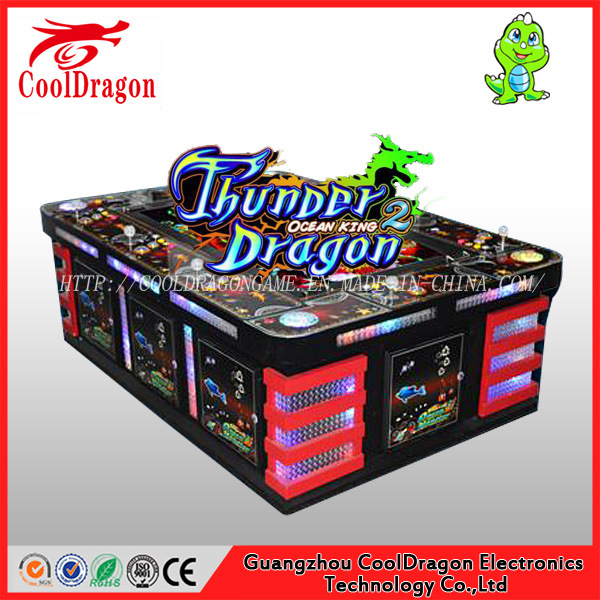 Arcade Fish / Fishing Hunter Tiger Strike Shooting Game Machine