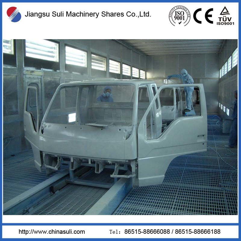 Automatic Spraying Coating Production Line for Driving Cab
