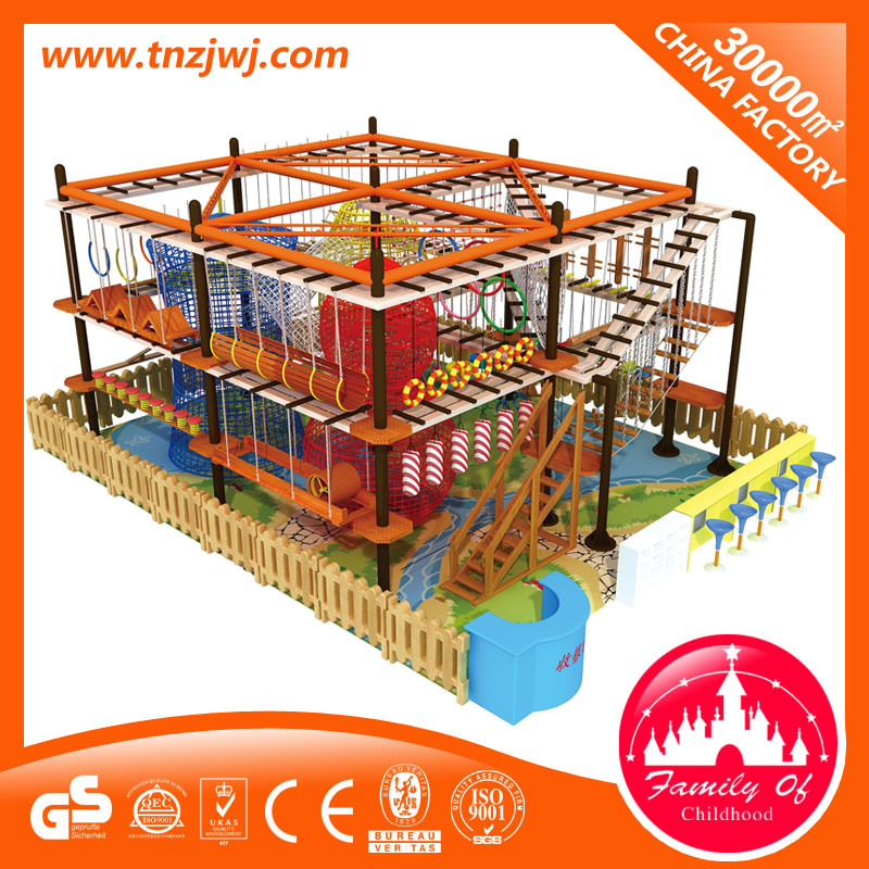 Indoor Rope Courses Children Playground Set for Climbing