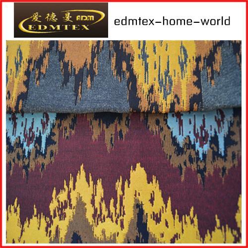 Polyester Jacquard Sofa Fabric EDM0028