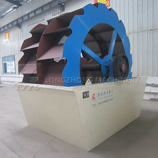 50t/H Wheel Sand Washing Machine