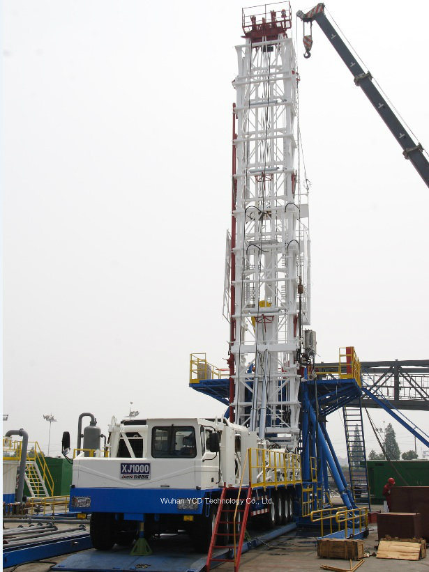 Xj350 Oilfield Workover Rig API Certification