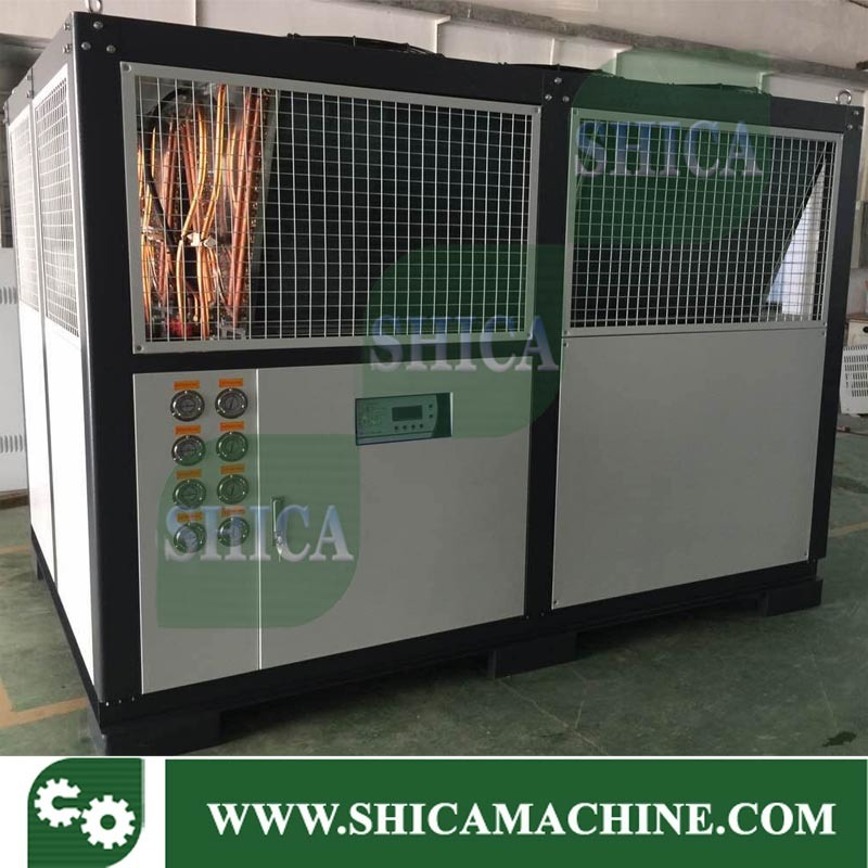 120 Ton Industrial Screw Type Water Cooled Water Chiller