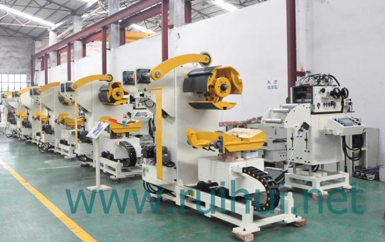 Automation Machine Straightener with Nc Servo Feeder and Uncoiler Use in Press Machine