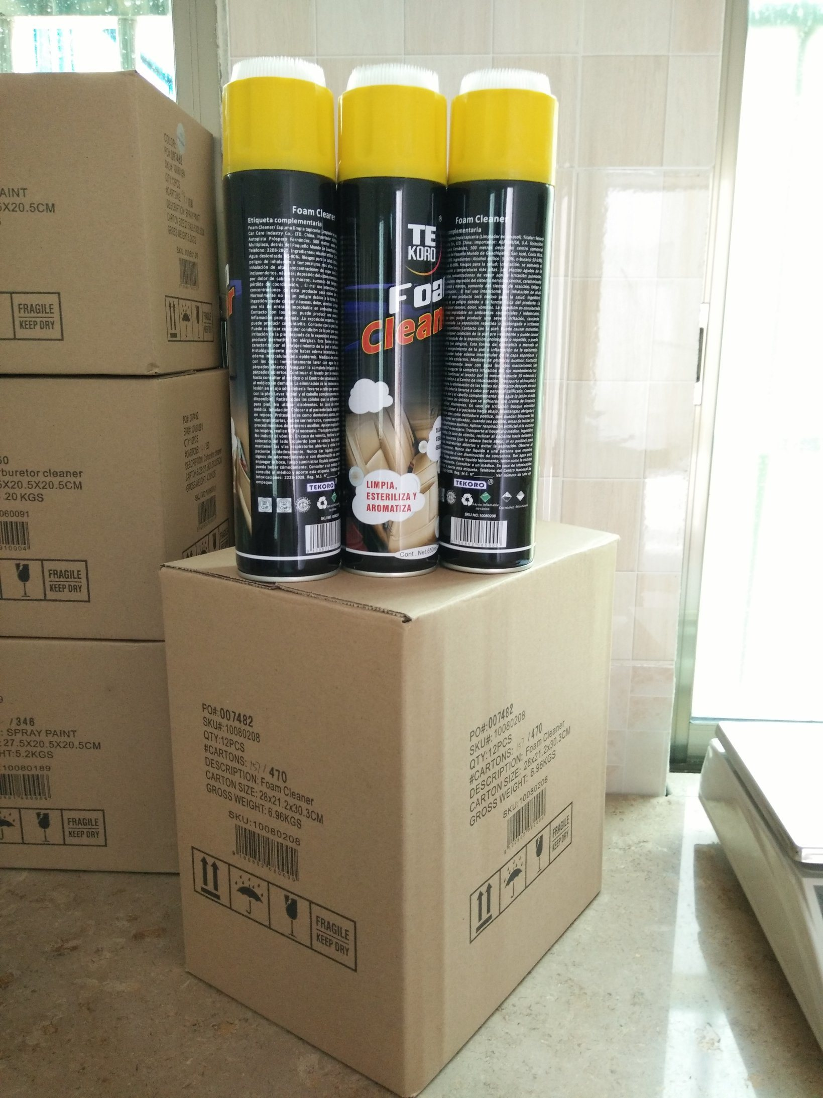 Multi-Purpose Foam Cleaner, Foaming Cleaner, Carpet and Upholstery Cleaner