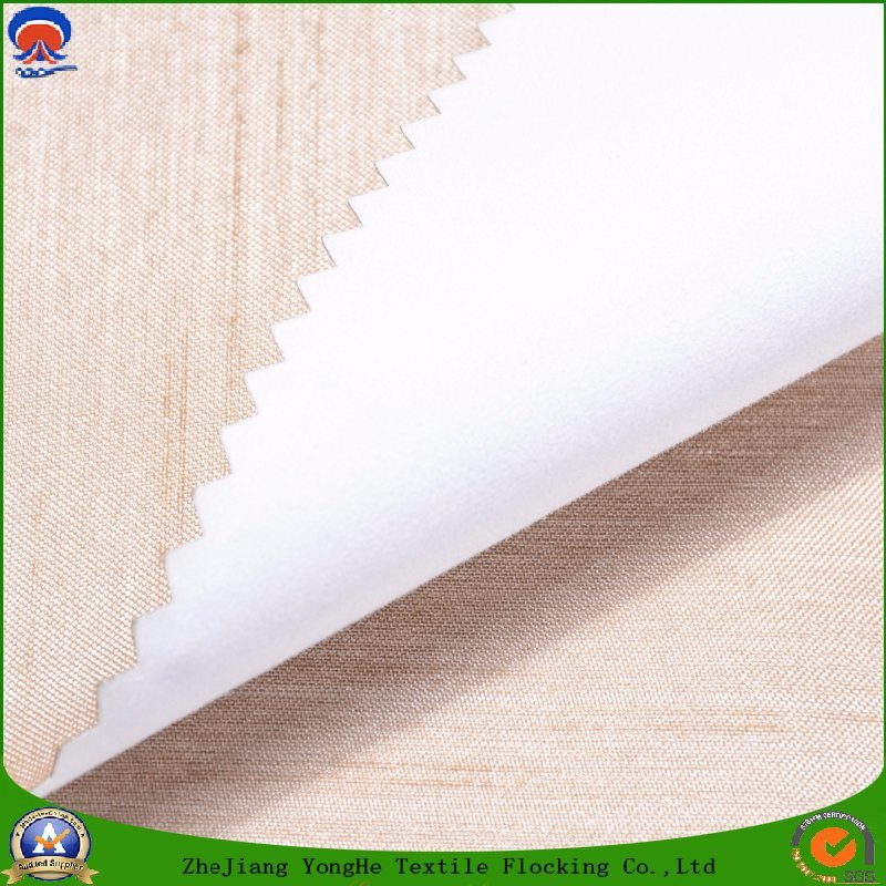 Textile Woven Polyester Waterproof Coating Flame Retardant Blackout Curtain Fabric for Window