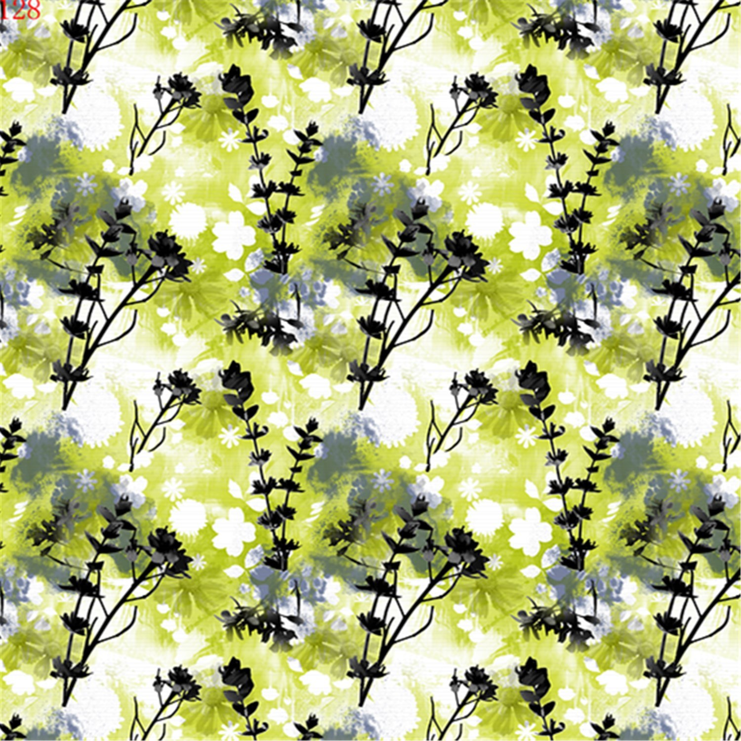 Stretch Fabric Printed Polyester Fabric for Garment (PPF-076)