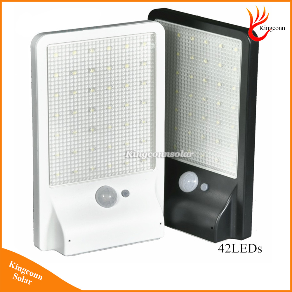 500 Lumen Solar Powered LED Light PIR Motion Sensor Solar Lamp Outdoor Wall Lamp Solar Garden Light