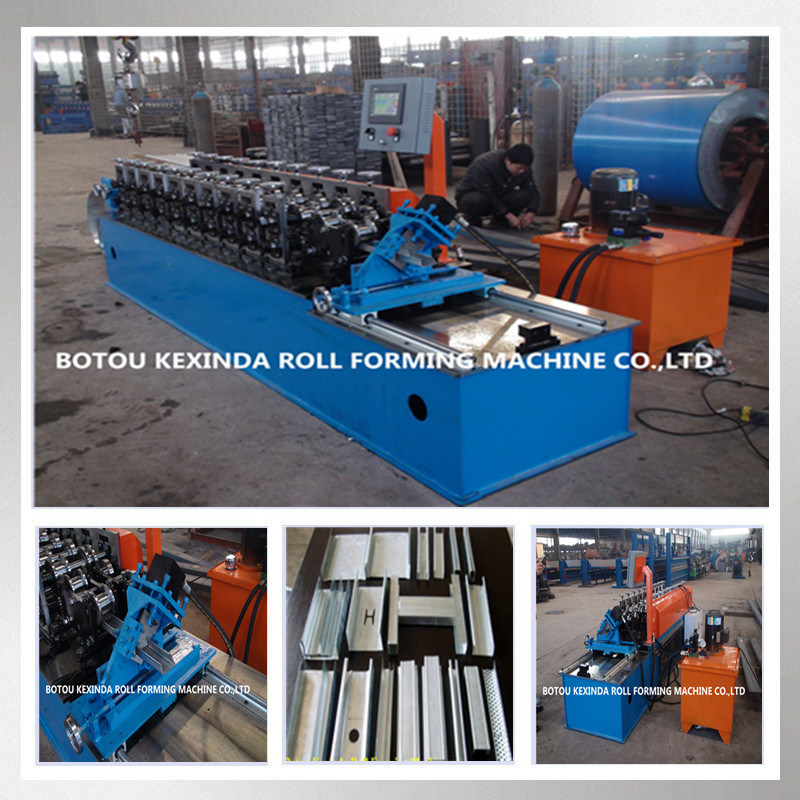 Cold Steel Stud and Track Roll Forming Machine