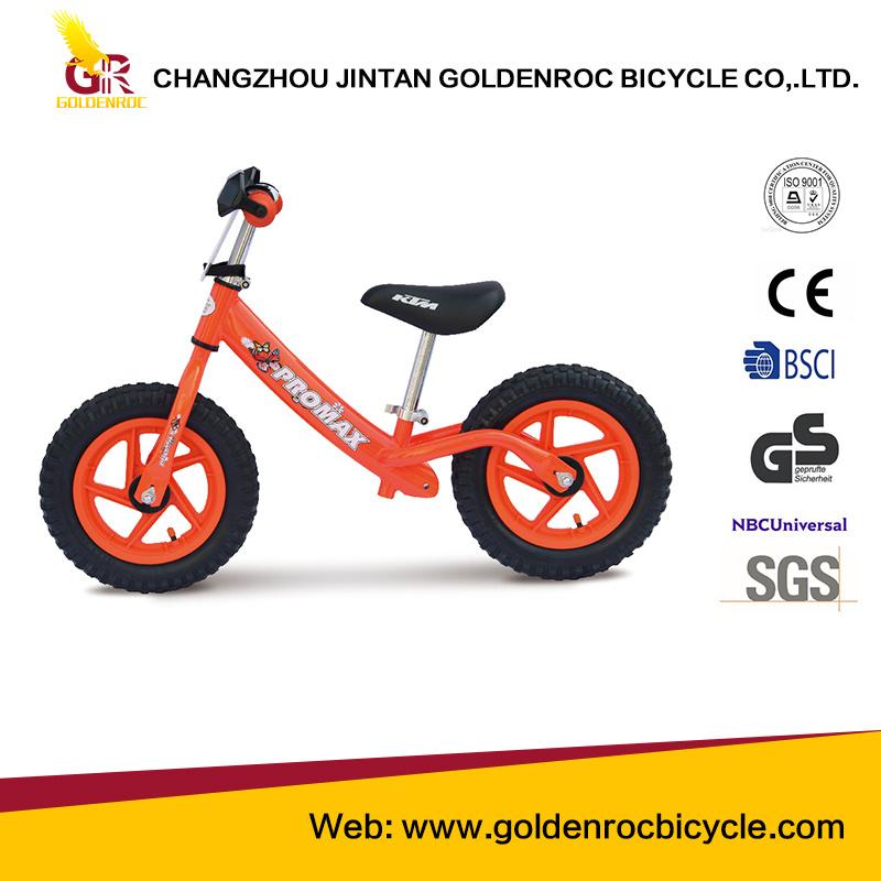 "(GL213-LS) New Fashion 12"" European Orders Balance Bike for Children"