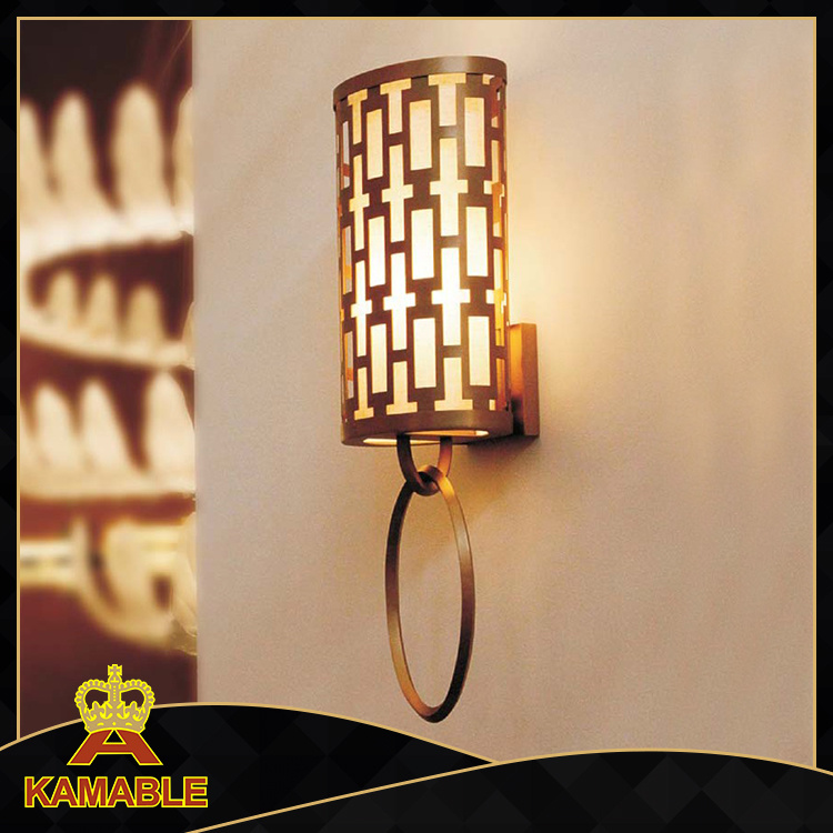 Simple Design Steel Wall Sconces (KA1188W)